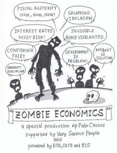 Zombie Economics, as Cartoon by ACEMAXX-ANALYTICS, Oct 6, 2011